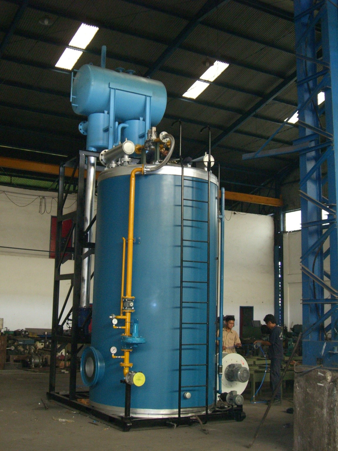 Cv Alpha Omega Produk Heaters Thermal Oil Heater
